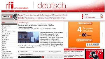 D  Interview on Radio France International (in german)   http   www.rfi.fr actude articles 116 article 1748.asp 9fdee03e49